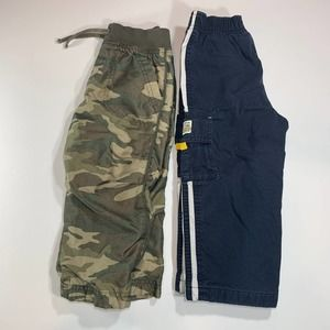 Lot of 2 Pairs 2T Boys Toddler Pants